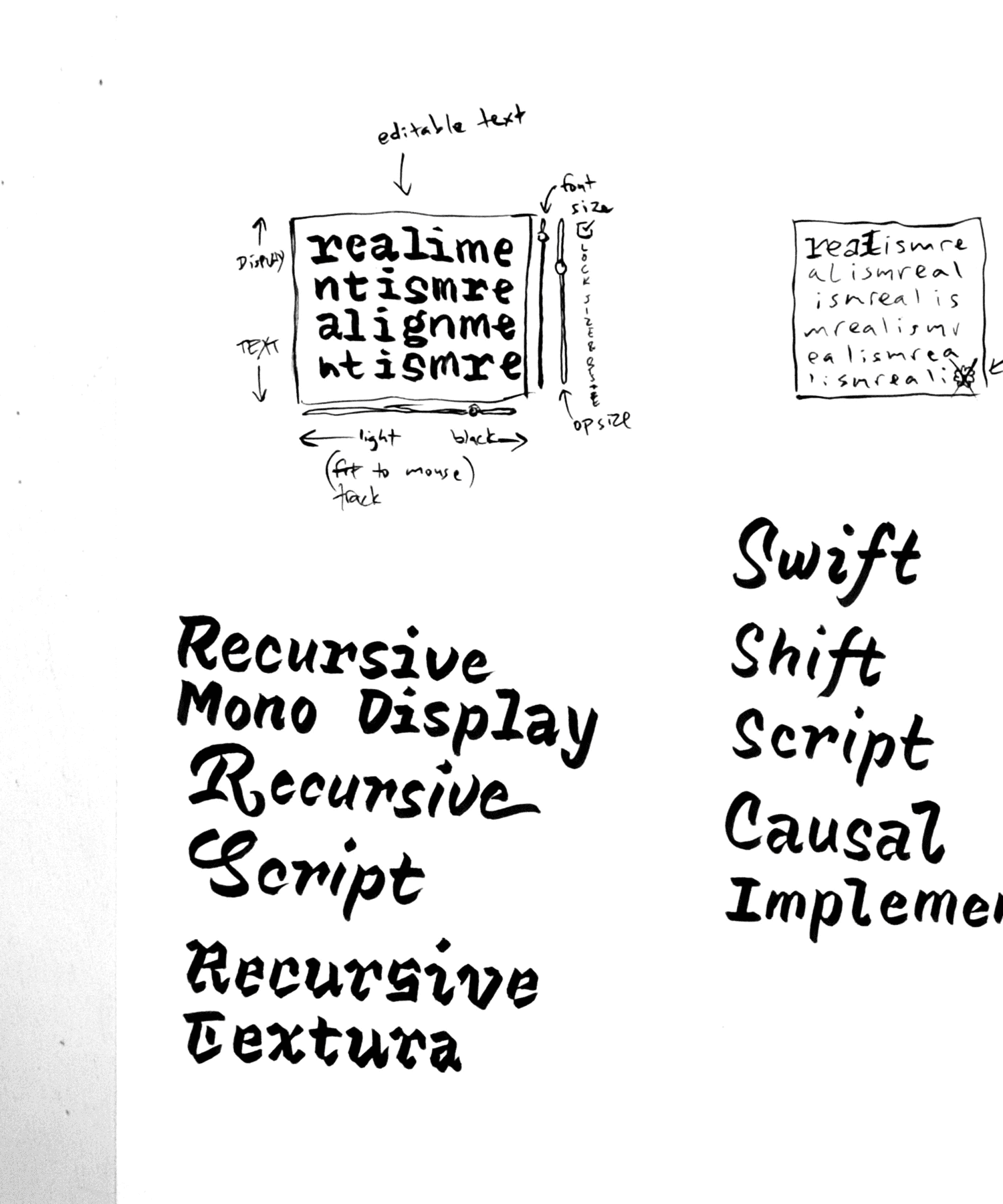 recursive process sketches 18